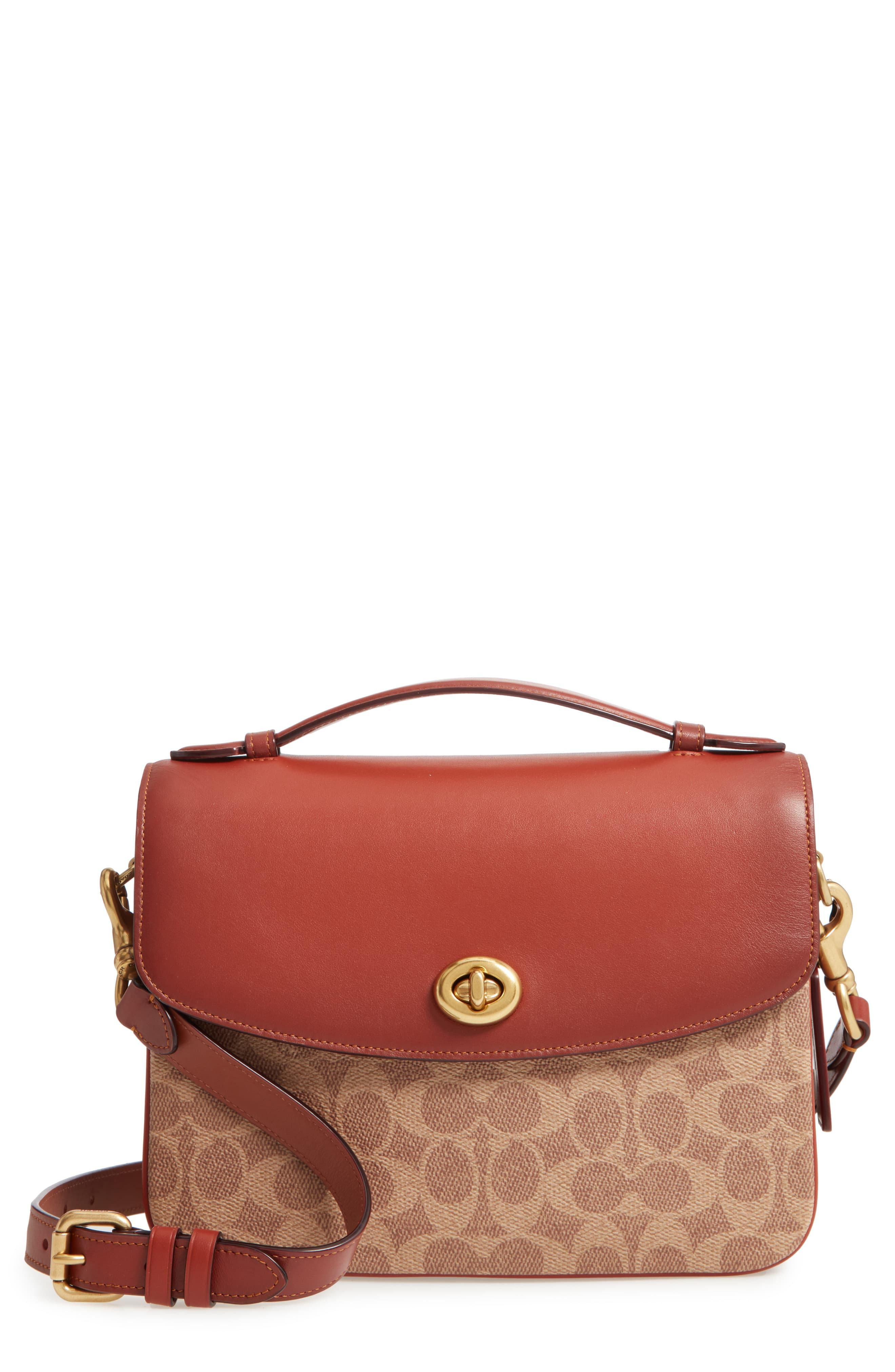 28e848aa COACH Chaise Signature Canvas & Leather Crossbody Bag - in ...