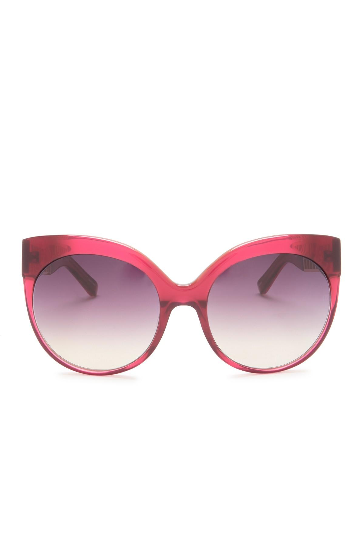 6a83a51c614 Linda Farrow - Pink 59mm Cat Eye Sunglasses - Lyst. View fullscreen