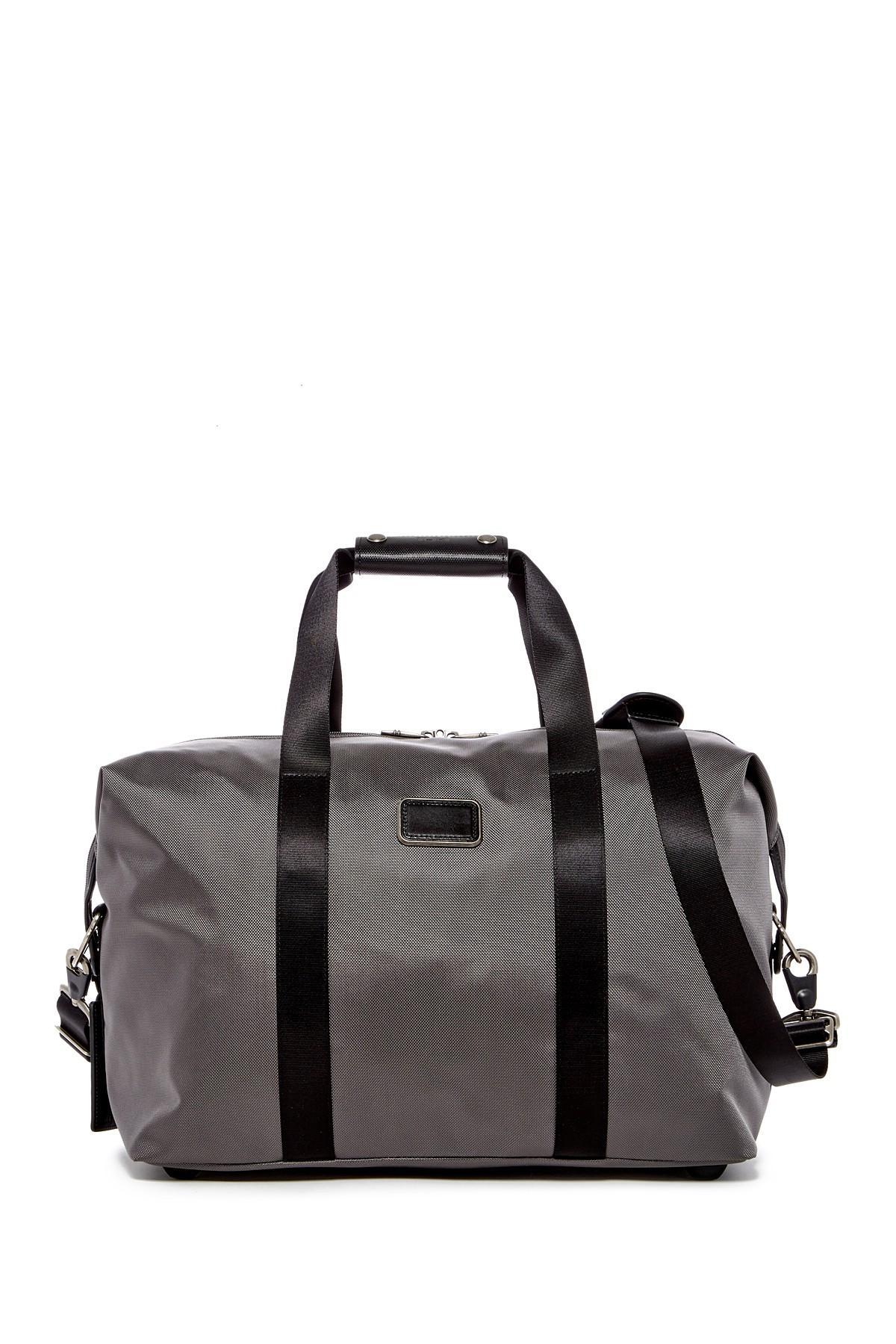 Lyst Tumi Small Soft Nylon Travel Duffle In Black For Men