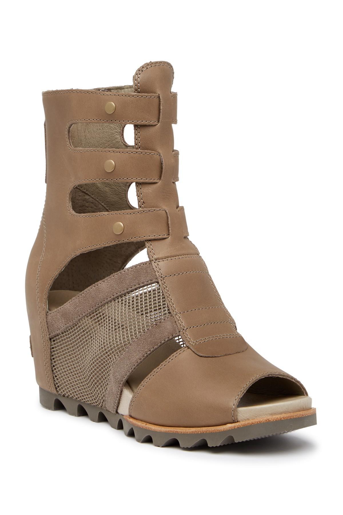 e45668ba0b3c Lyst - Sorel Joanie Gladiator Sandal in Brown