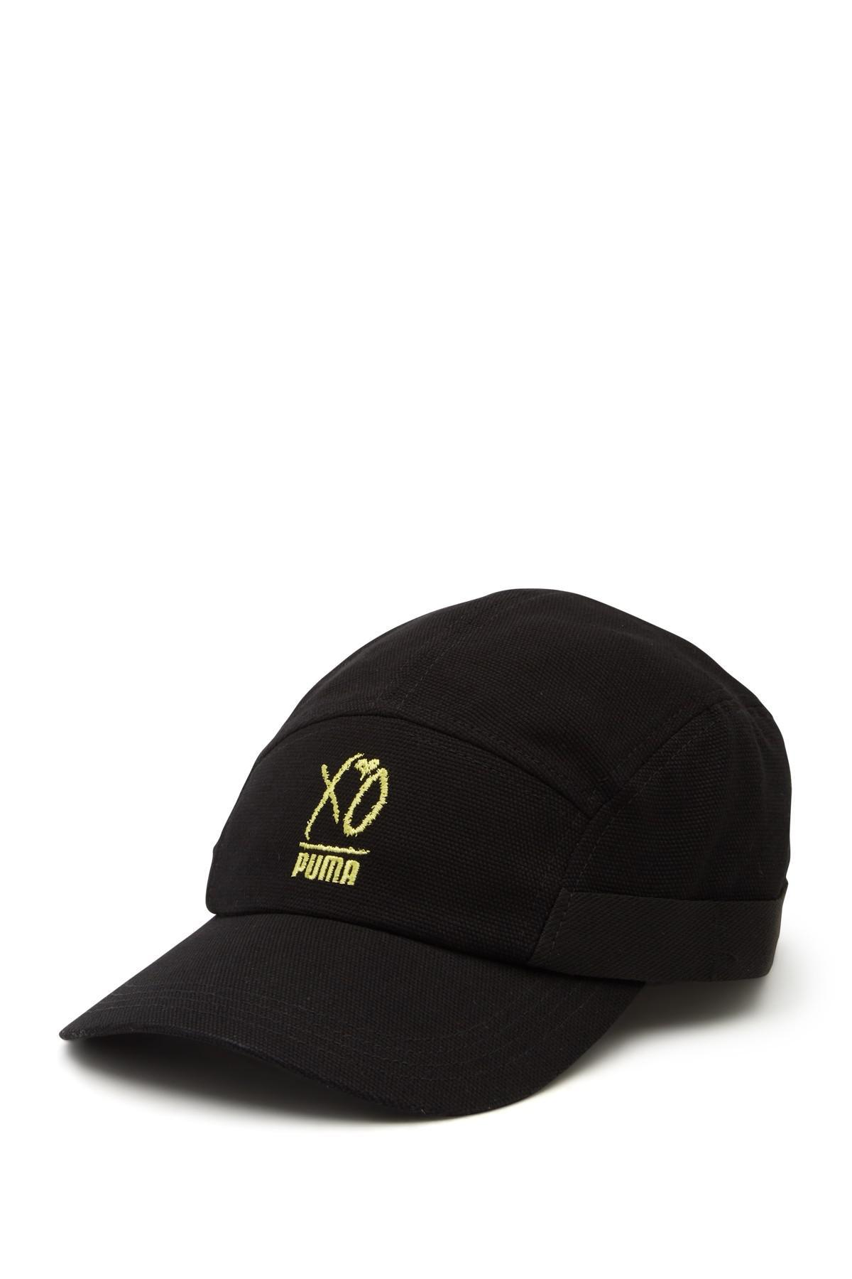 18880edf79a Lyst - PUMA X Xo By The Weeknd Canvas Baseball Cap in Black for Men