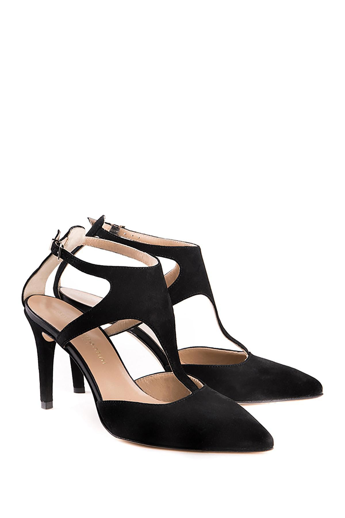 Perla Formentini Sofia Leather Ankle Strap Pump NnrTklT0