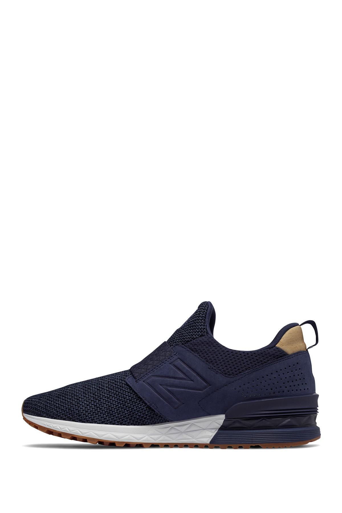 Slip For Sport In On Suede New Balance Blue Men Decon 574 Sneaker ZOPuTXki