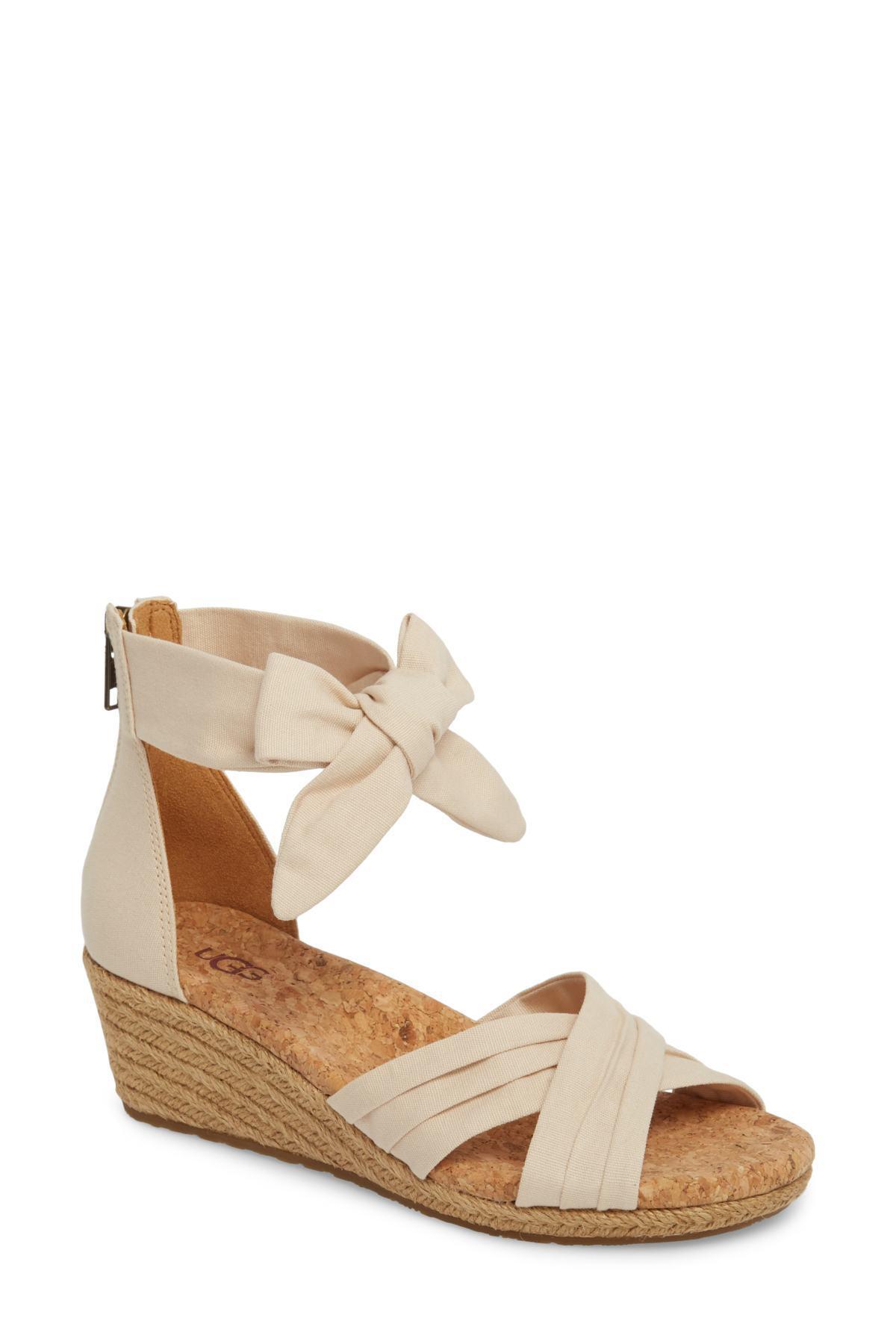 e707f998a1b Lyst - Ugg (r) Traci Espadrille Wedge Sandal (women)