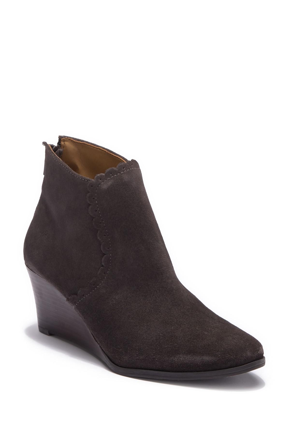 5303c8fcd56a Lyst - Jack Rogers Emery Suede Ankle Boot in Gray