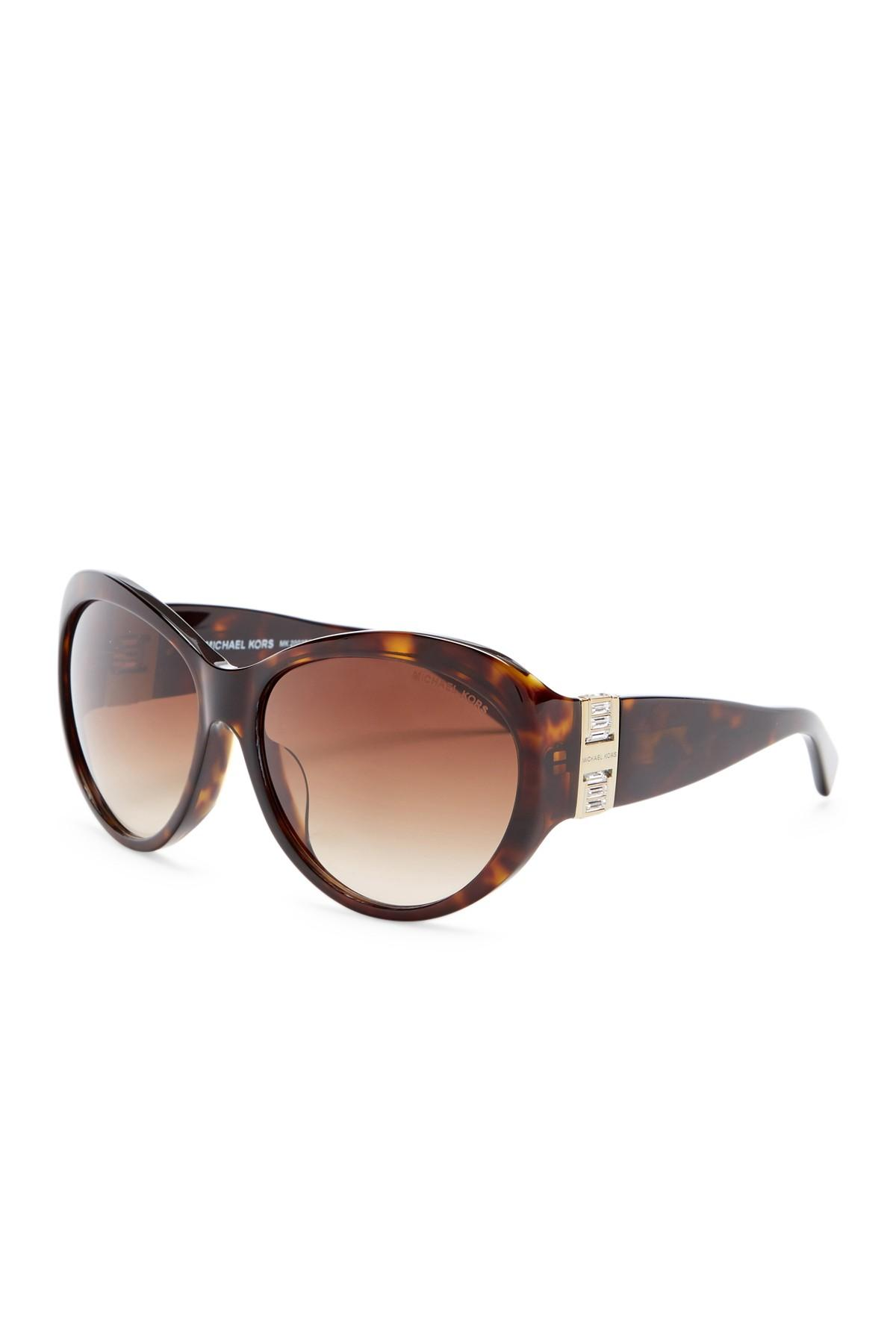 802d5d4295 Lyst - Michael Kors Women  39 s Paris Cat Eye Sunglasses ...