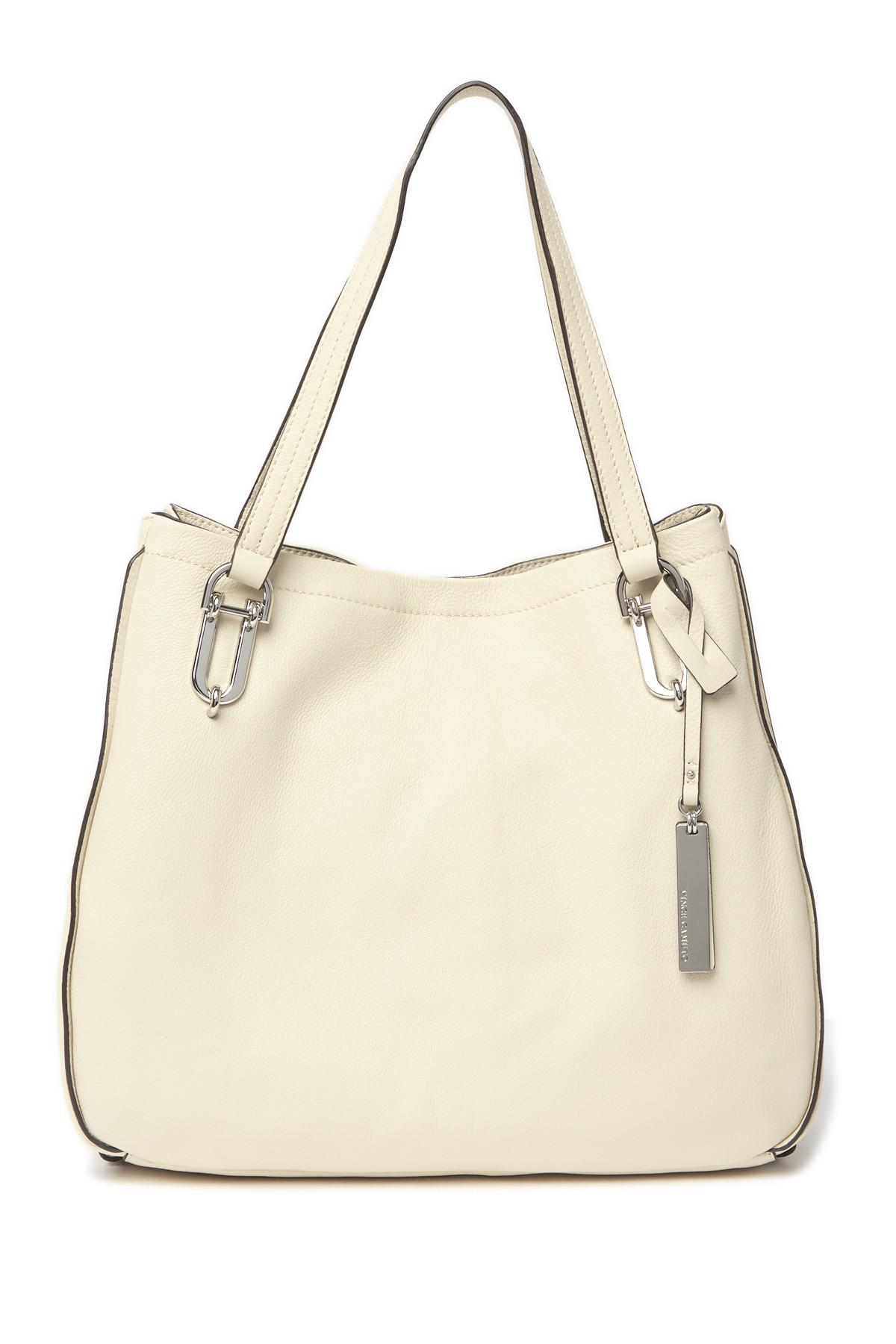 7e6c5a085d Lyst - Vince Camuto Leany Leather Tote Bag in Natural