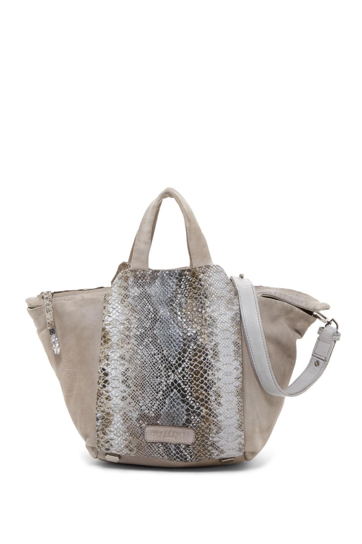 f4d784125865c8 Liebeskind Berlin Baraka Tumbled Snake Print Leather Top Handle Bag ...