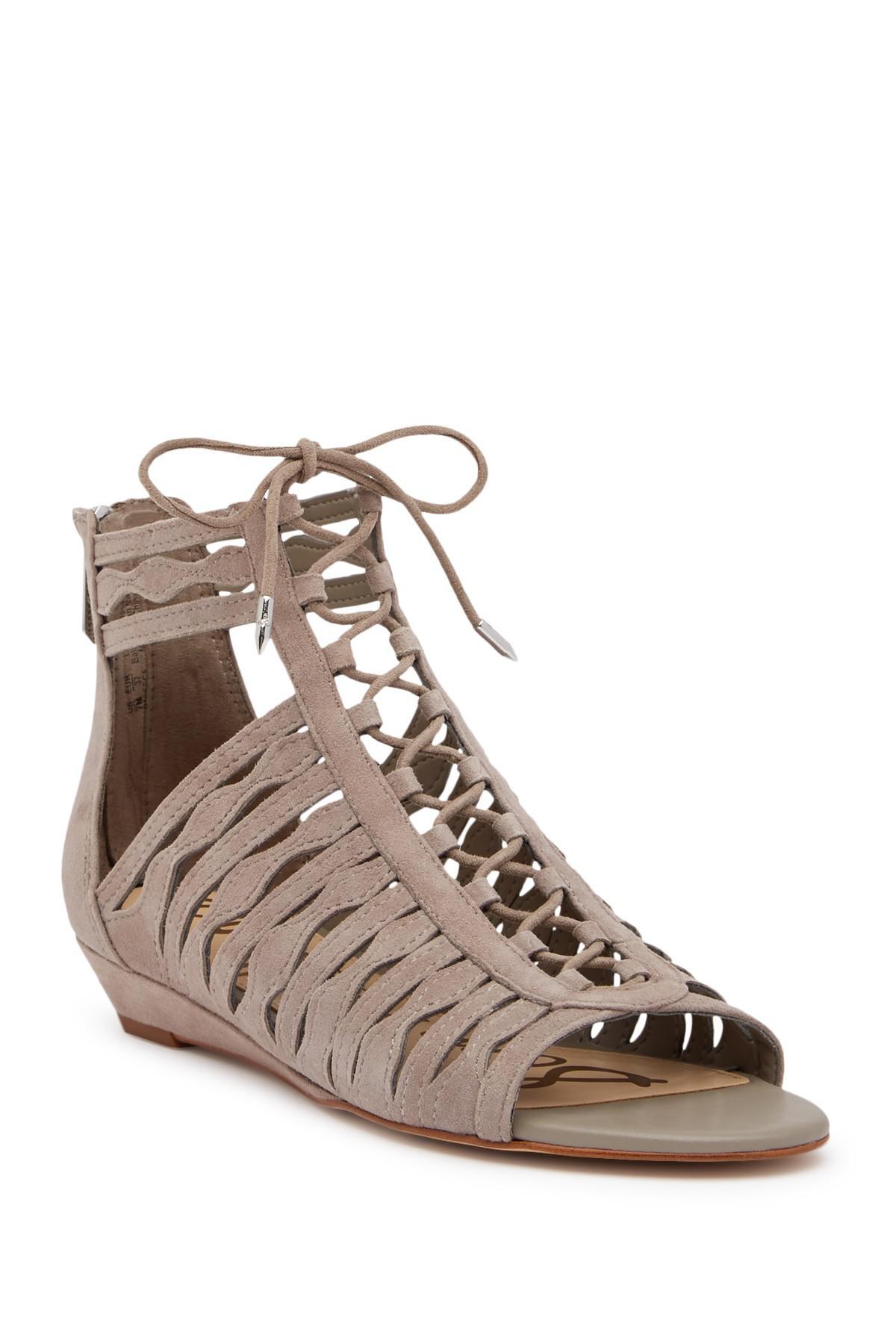 Sam Edelman Daleece Lace-Up Sandal HwFaa