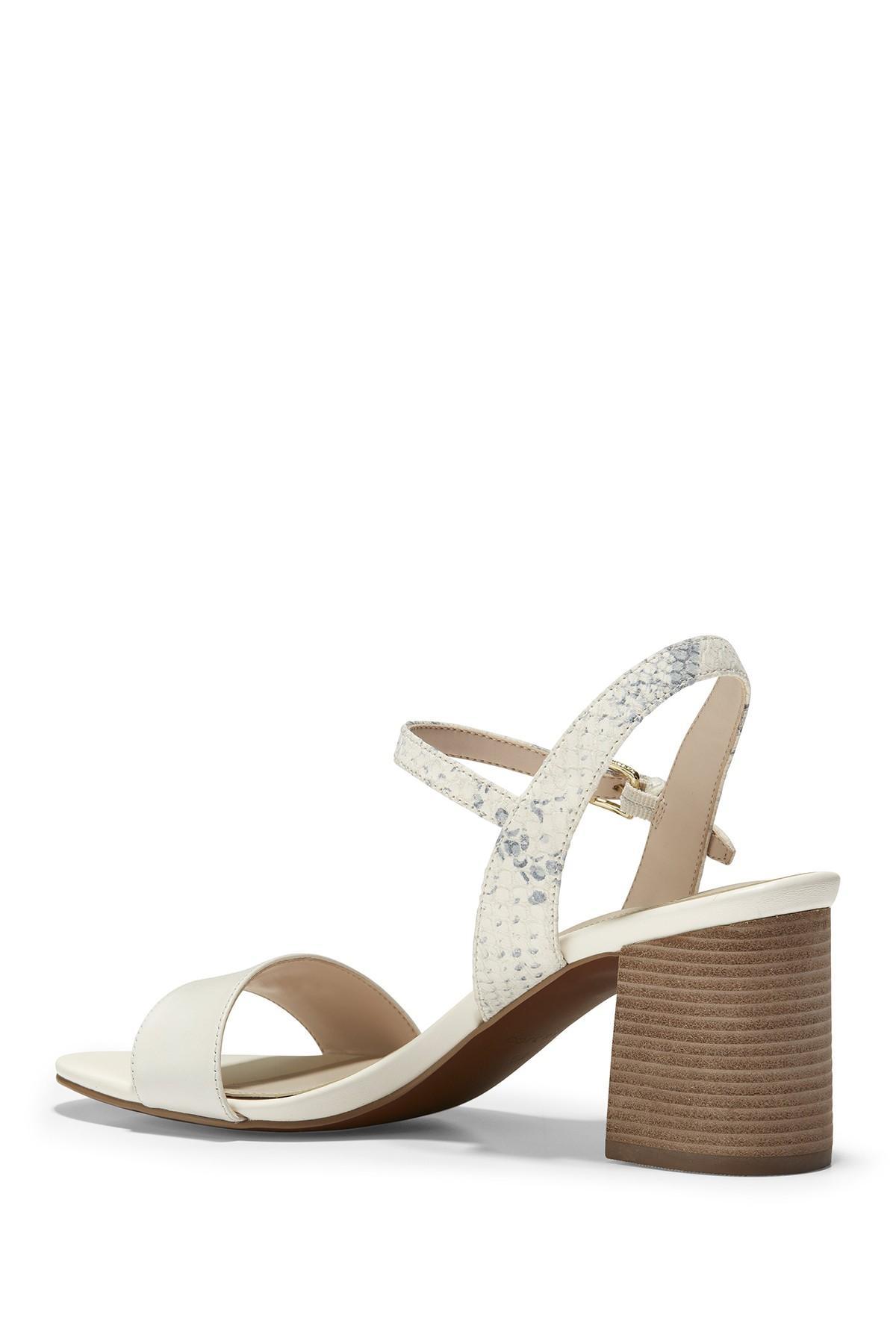 477dcb8f5ae Cole Haan - Multicolor Josie Block-heel Sandals - Lyst. View fullscreen
