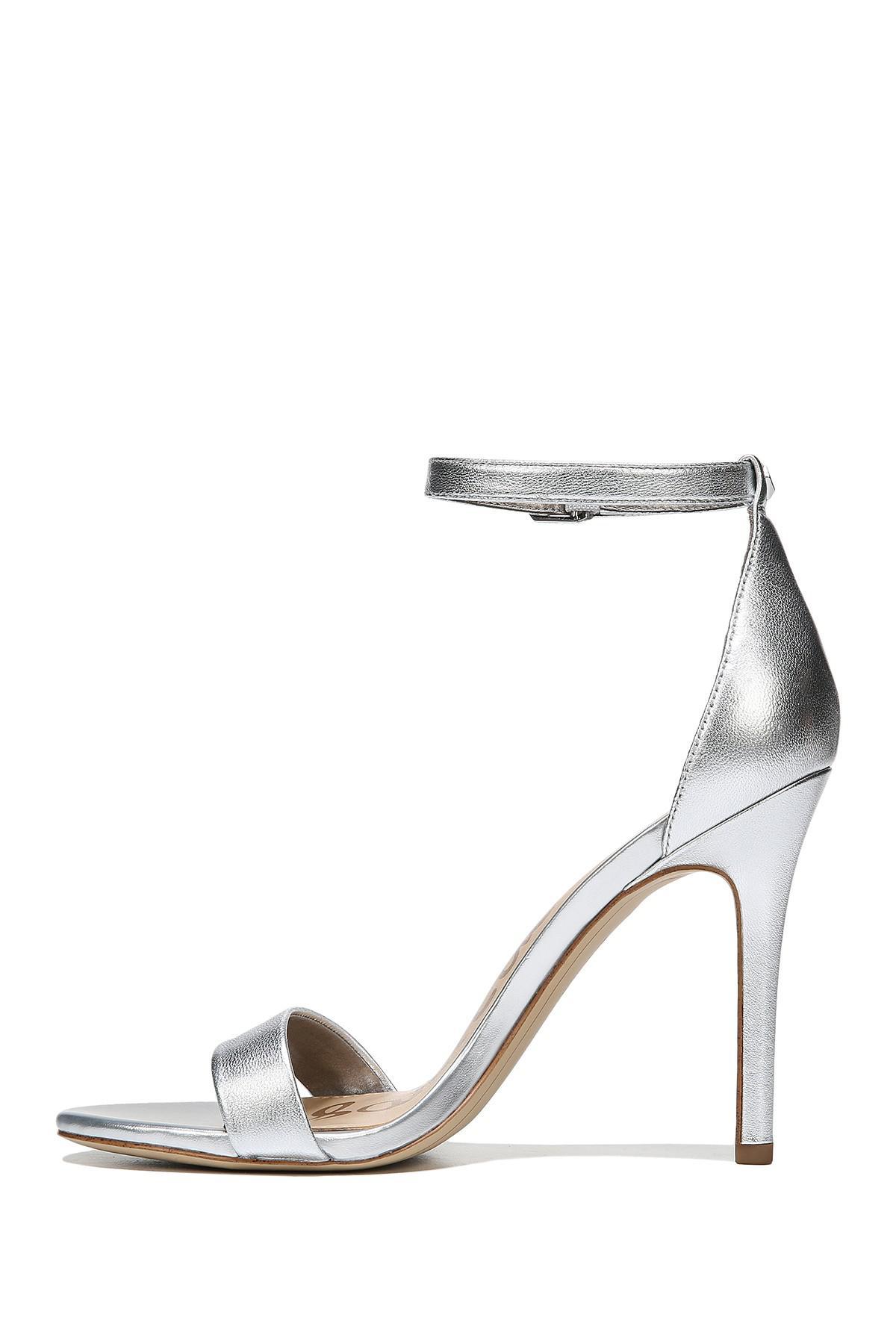 a705be04c17ec Lyst - Sam Edelman Amee Ankle Strap Heel Sandal