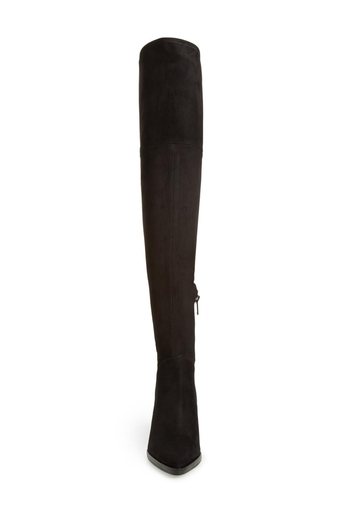 8b1dc7e2cdd Lyst - Marc Fisher Alinda Over The Knee Boot in Black