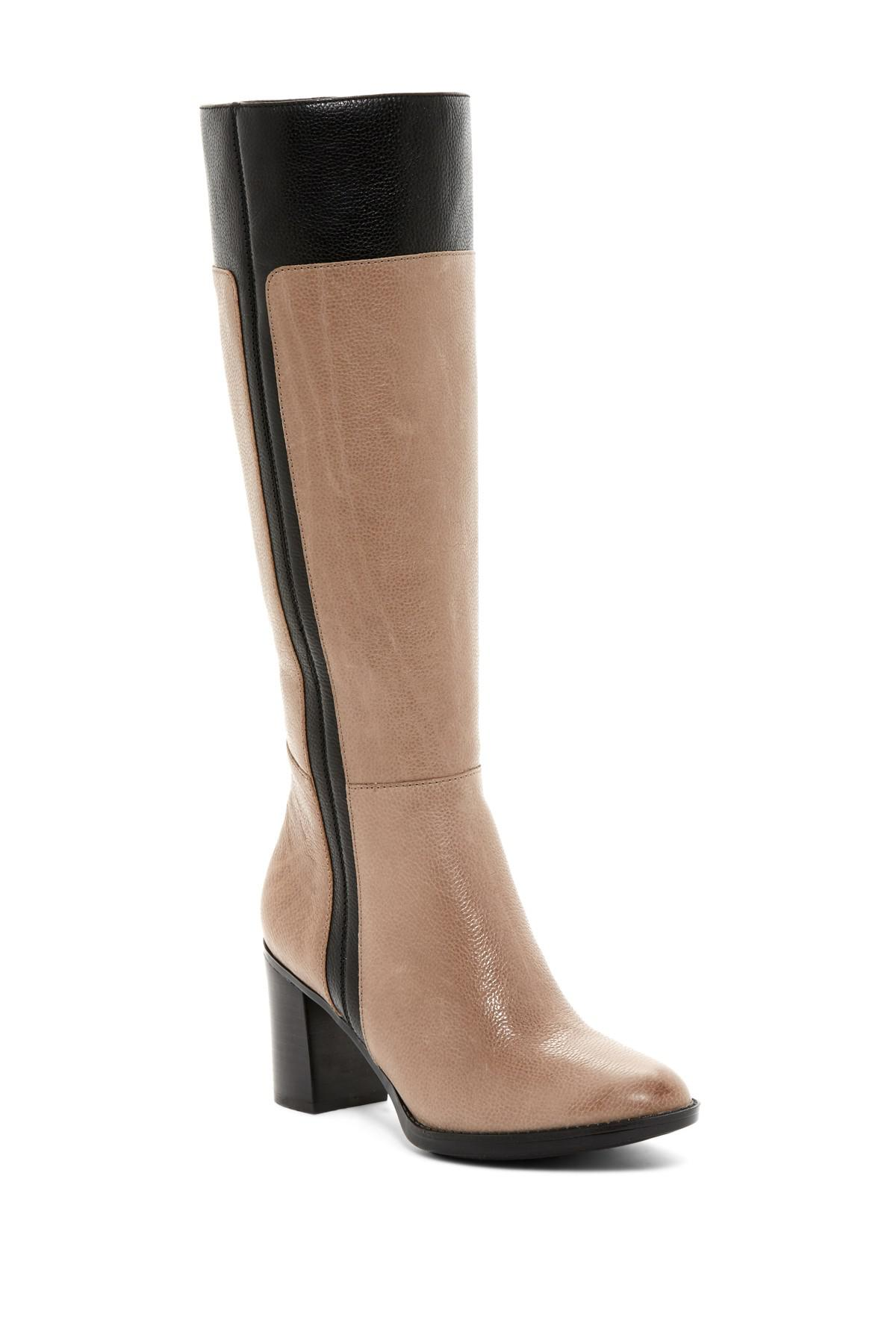 2b9347848722 Lyst - Naturalizer Frances Tall Boot - Wide Width Available in Brown
