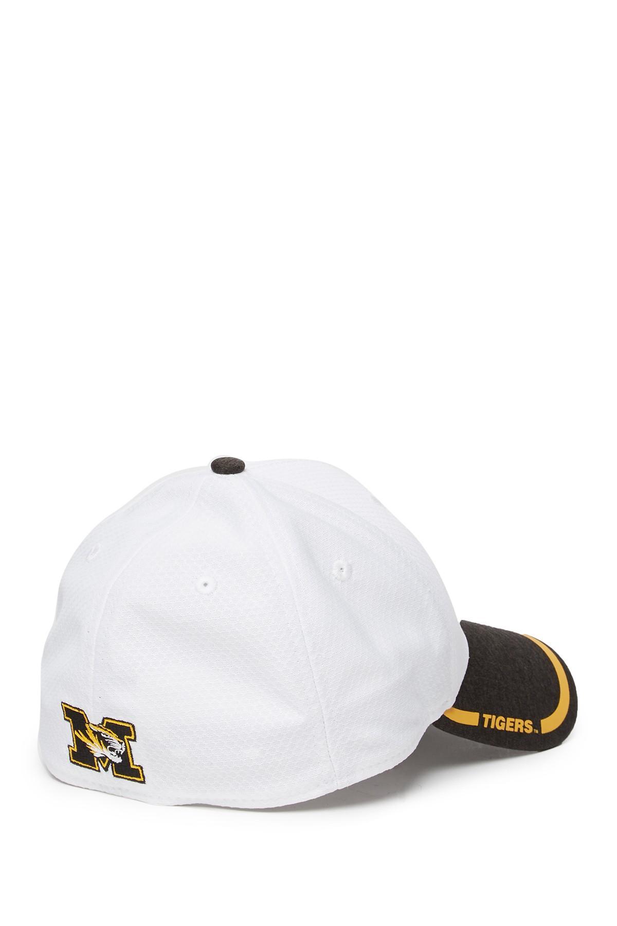 new concept eb609 d4dc9 KTZ - White 39thirty Tinted Trim Missouri Tigers Baseball Cap for Men - Lyst.  View fullscreen