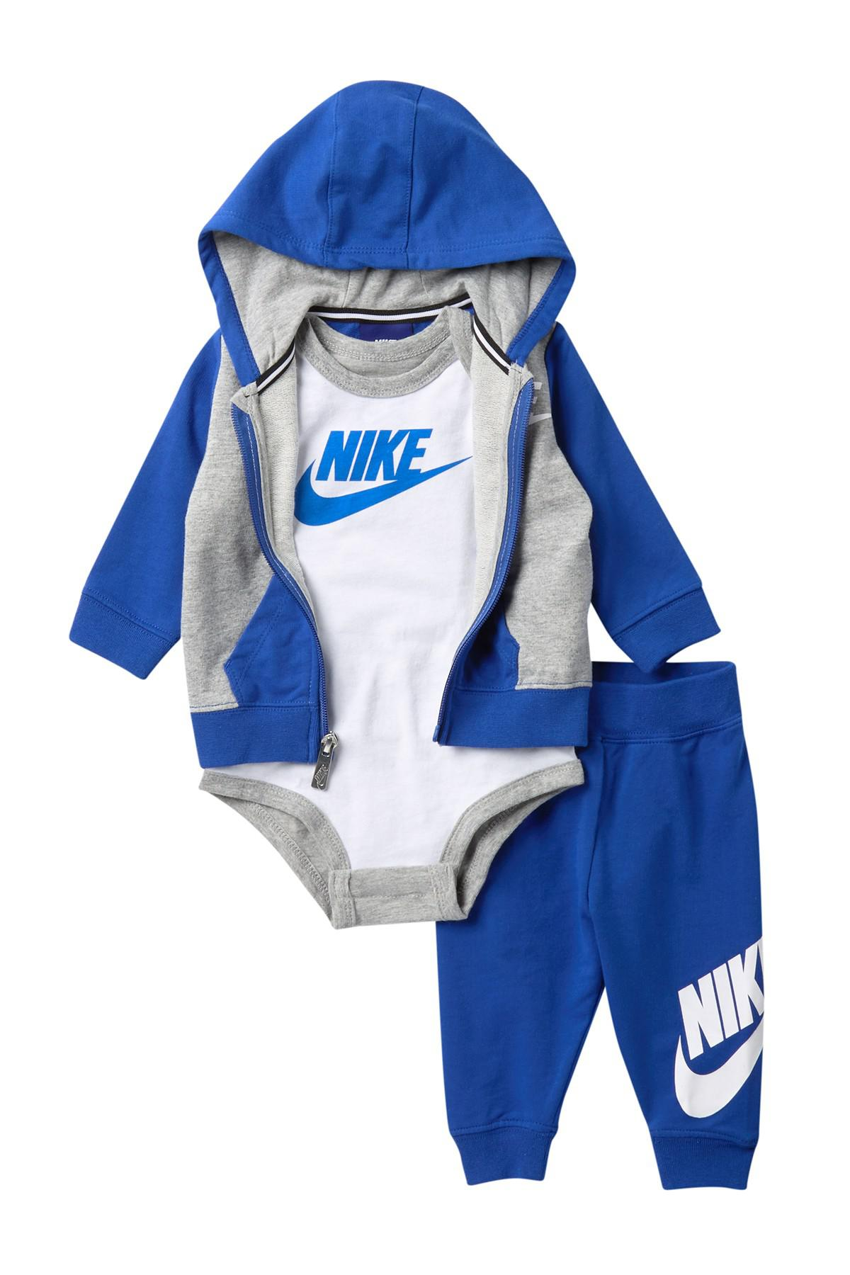 4d256b646678 Lyst - Nike Futura Terry 3-piece Gift Set (baby Boys) in Blue for Men