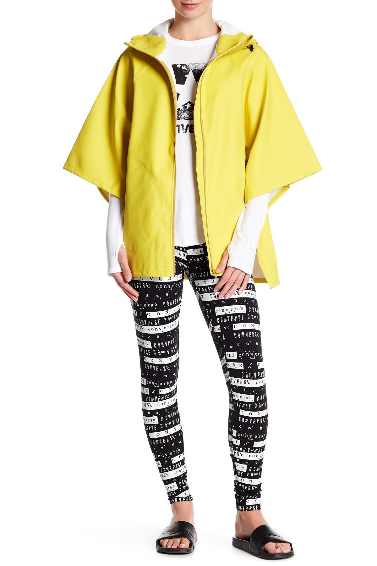 a839aaa20d67 Lyst - Converse Rubber Rain Poncho in Yellow