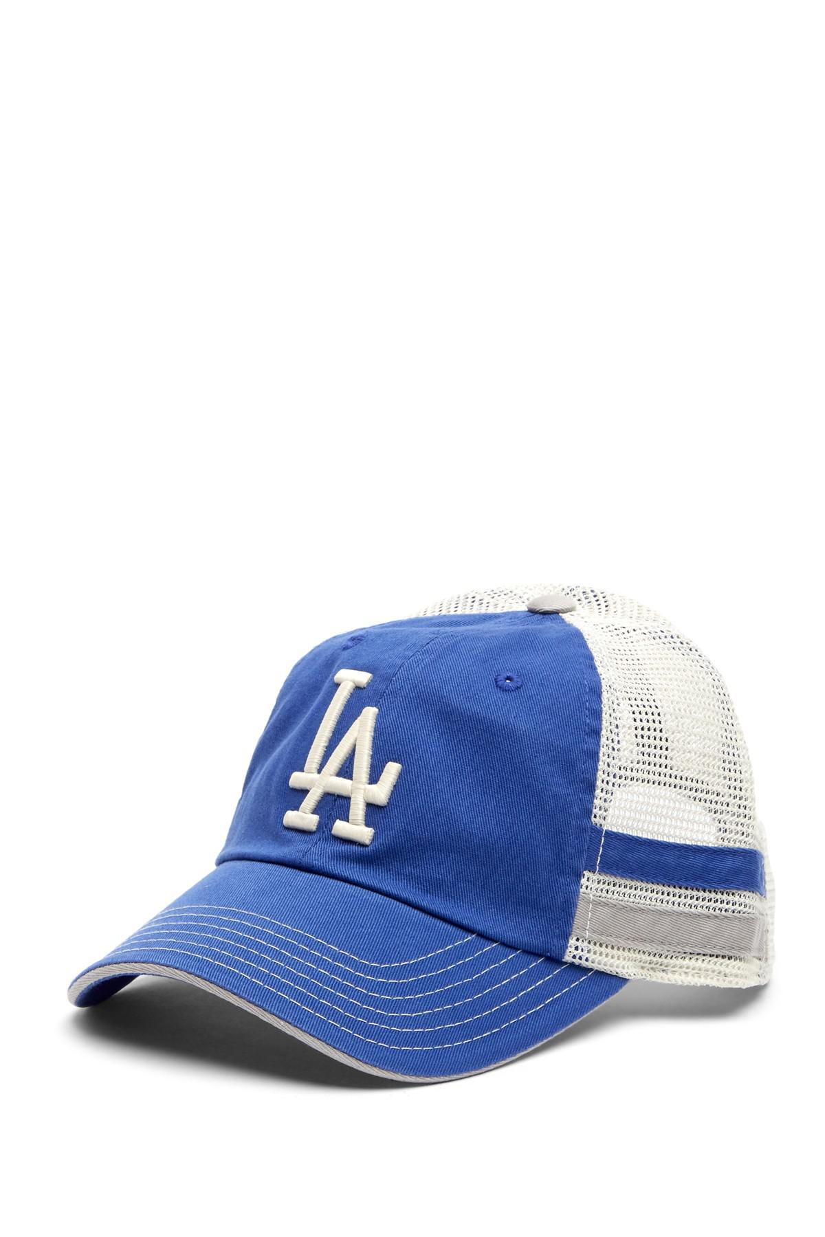 d717fc3a2f7 Lyst - American Needle Foundry Los Angeles Dodgers Mesh Back ...