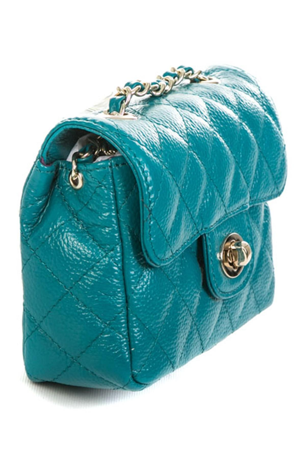 Zenith Quilted Shoulder Bag With Chain 13