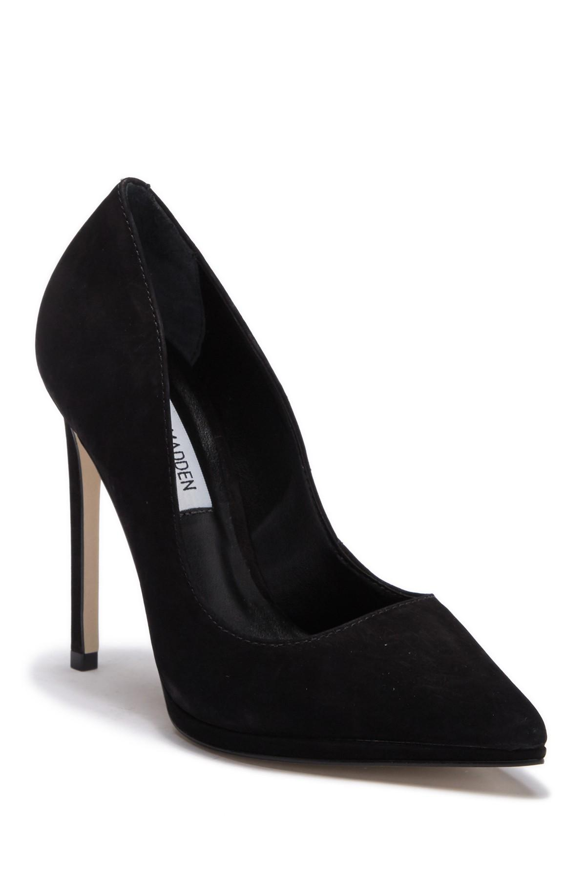 0a268aad748 Lyst - Steve Madden Lovey Stiletto Pump in Black