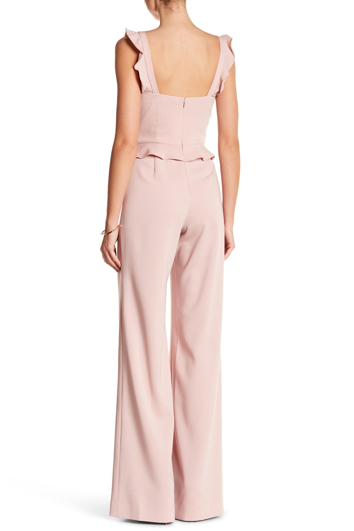 48dcf158ad3 Lyst - Jay Godfrey Roy Jumpsuit in Pink