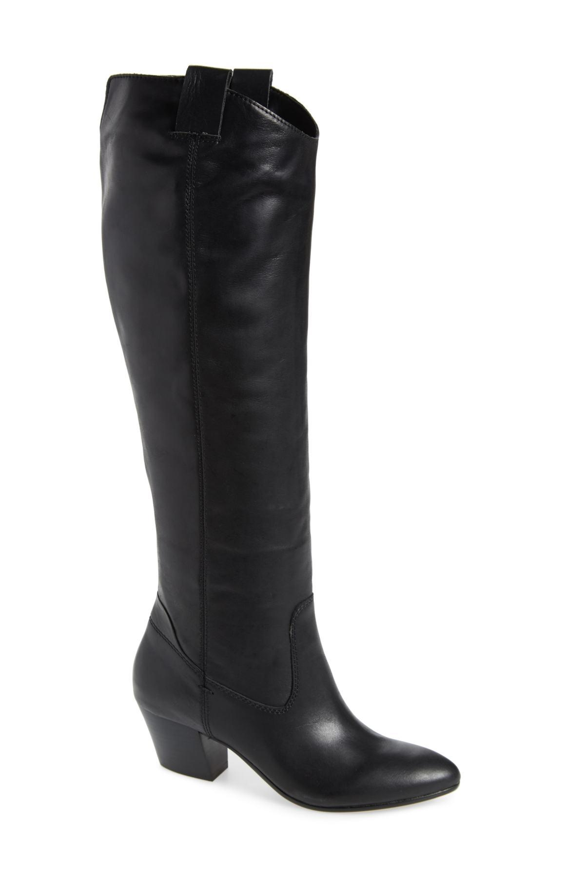 b23e6fc435a Lyst - Dolce Vita Hinley Knee High Boot (women) in Black