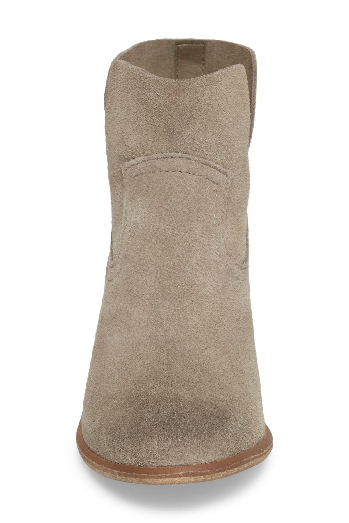 ec401f2fdae Lyst - BP. Brice Notched Bootie (women) in Gray - Save 33%