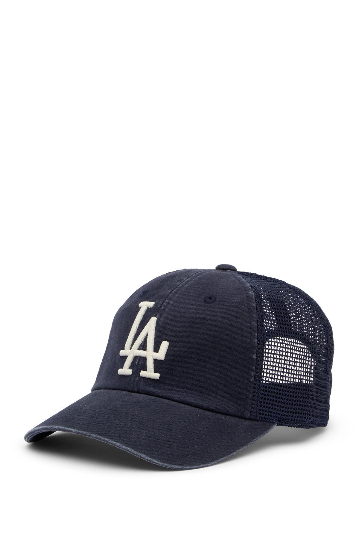 Lyst - American Needle Los Angeles Dodgers Raglan Bones Mesh ... a70290328ed5