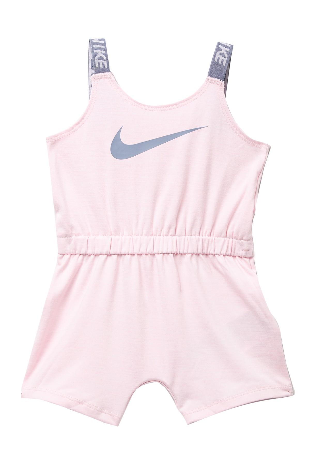 058582e93 Nike Dri-fit Crossdye Sport Romper (baby Girls) in Pink - Lyst