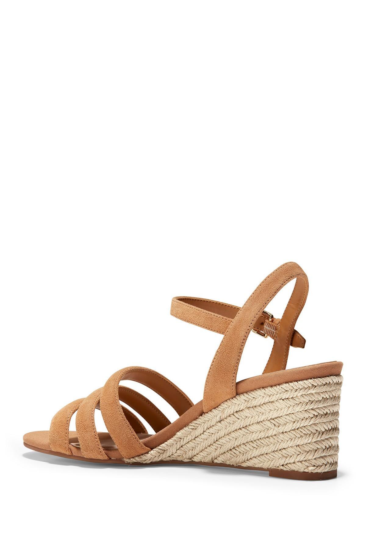 92608c8b0014d Cole Haan - Multicolor Jasmine Espadrille Wedge Sandal - Lyst. View  fullscreen