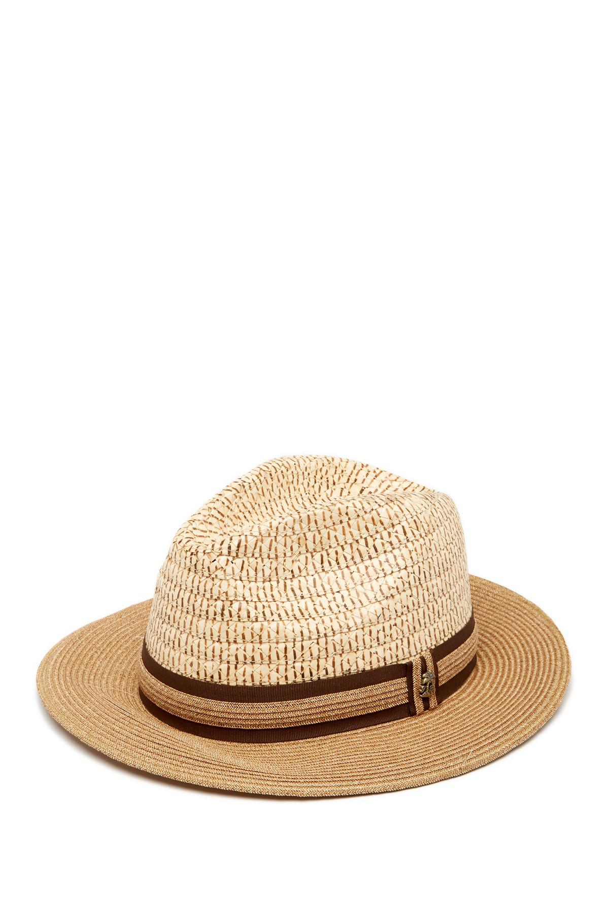 Lyst - Tommy Bahama Two-tone Fedora in Natural for Men f78d2f312b25