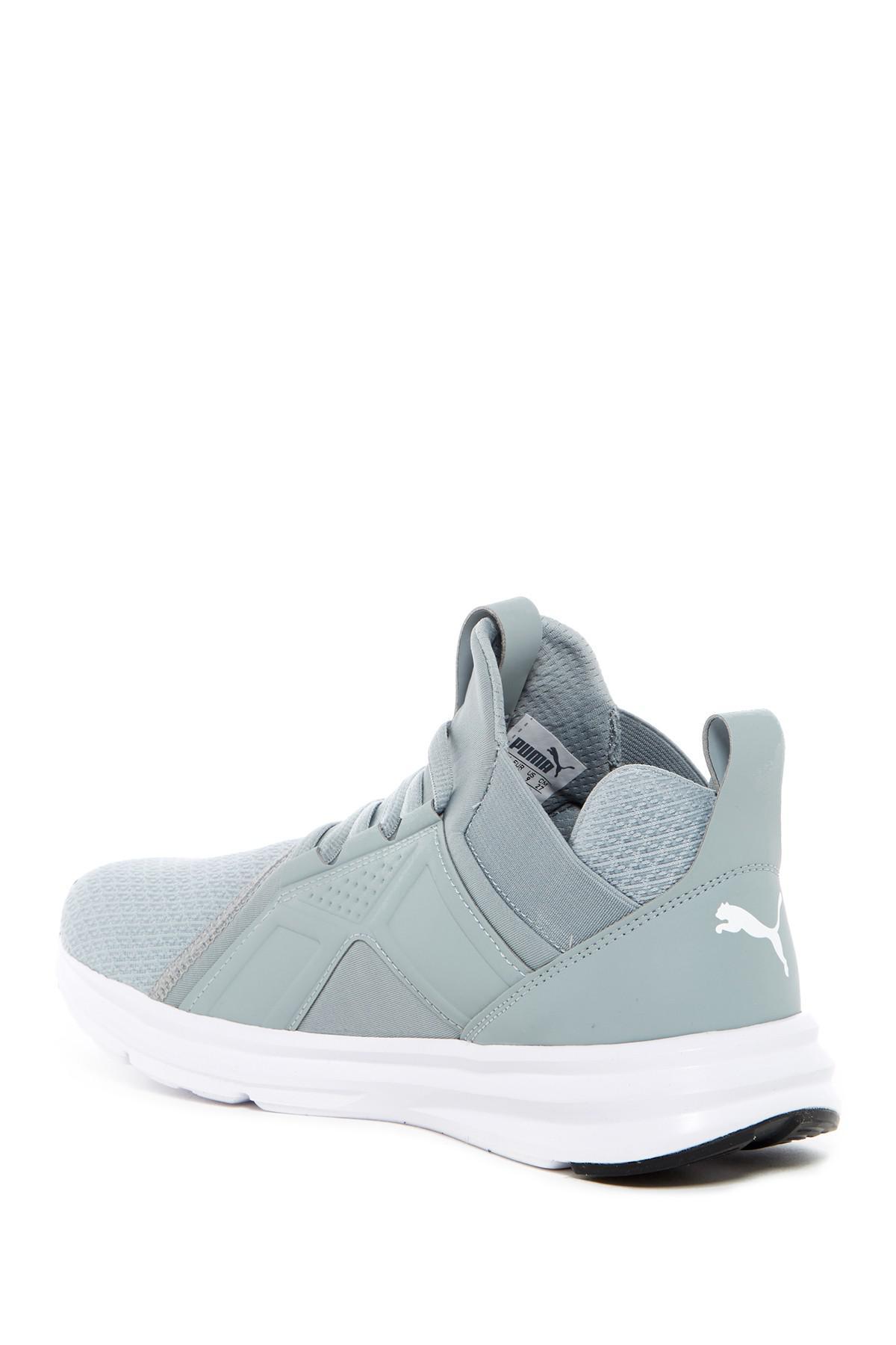 bfa75bcfd814 Lyst - PUMA Enzo Mid Sneaker in Gray for Men