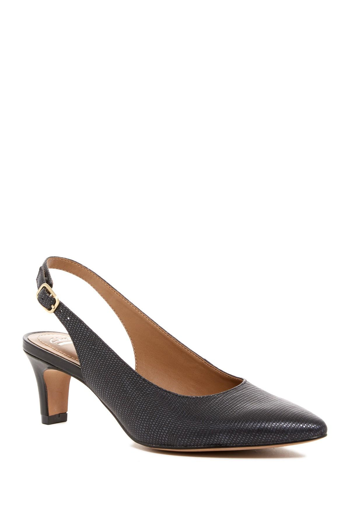 Clarks Crewso Riley Slingback Pump Wide Width Available