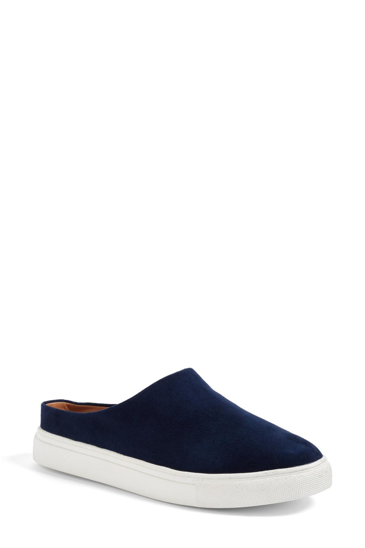 Lyst - Caslon Caslon Gabe Backless Platform Sneaker in Blue