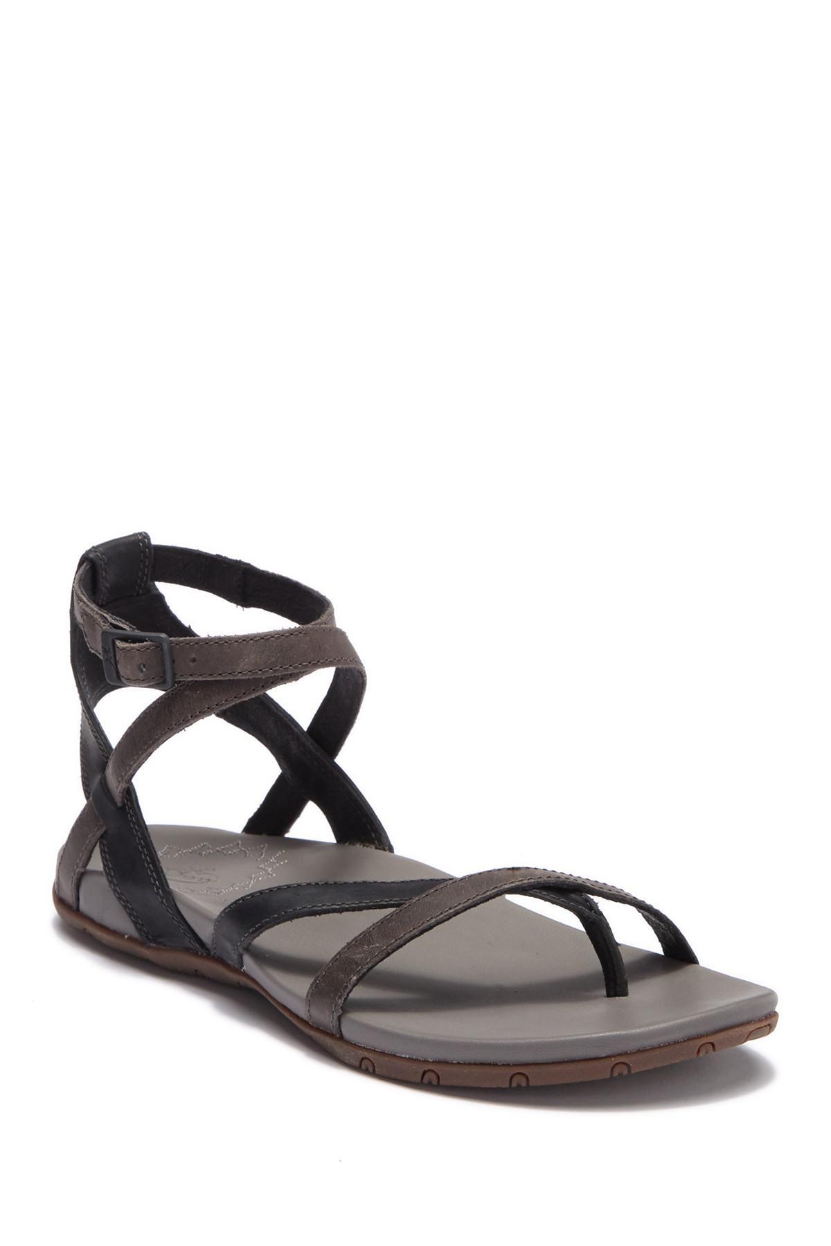 0a43cff1125b Lyst - Chaco Juniper Leather Sandal in Black