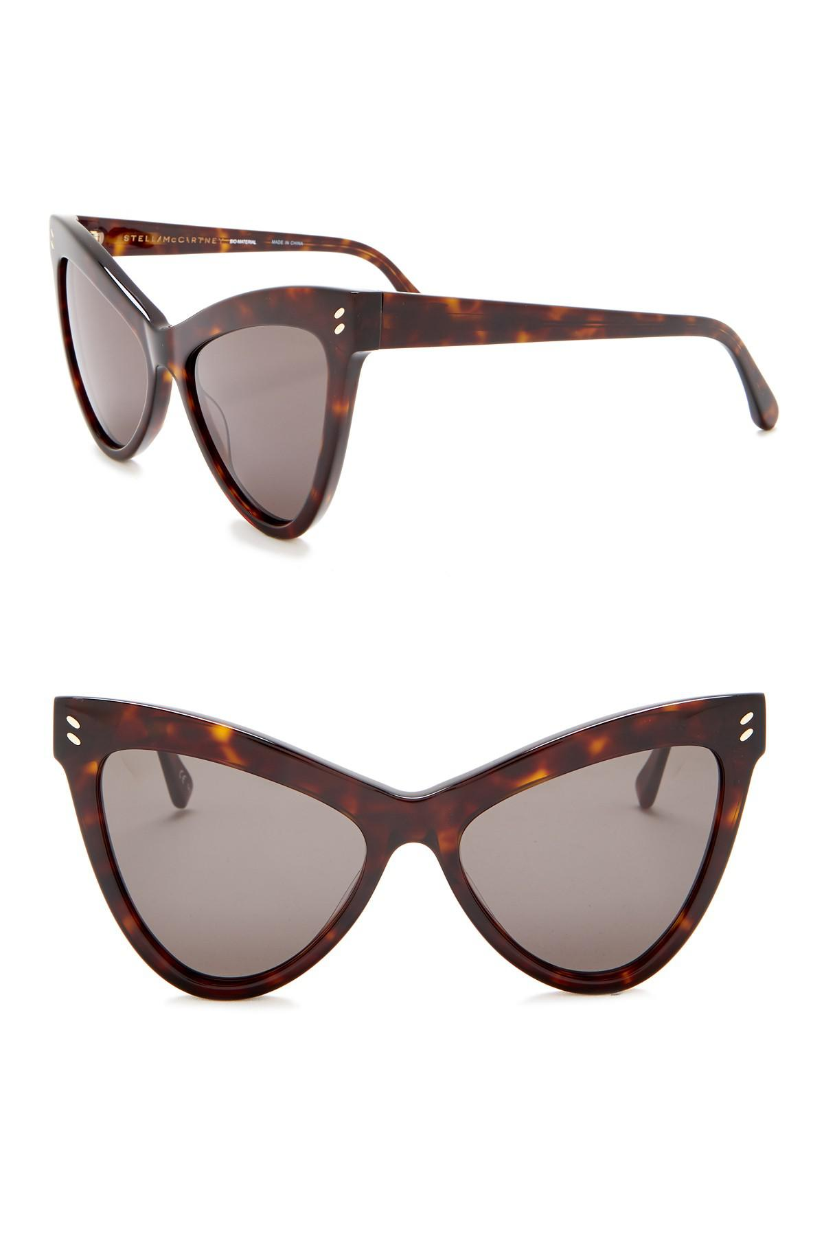 ac2b54ba146b Stella McCartney. Women s Brown 55mm Cat Eye Sunglasses.  290  120 From Nordstrom  Rack