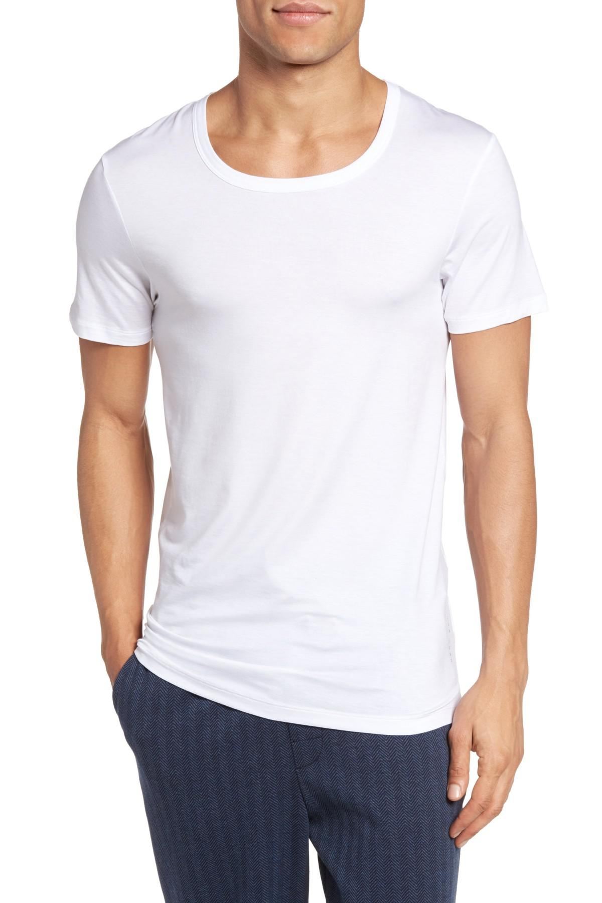 e7a5b40a4fa9f Lyst - BOSS Seacell(r) Blend T-shirt in White for Men