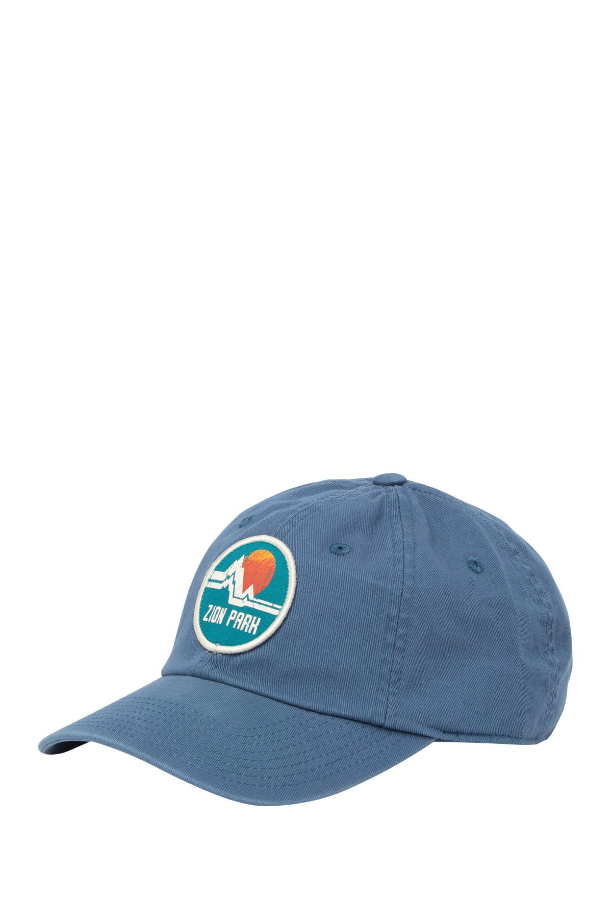 a246e577d Lyst - American Needle Zion National Park Baseball Cap in Blue for Men