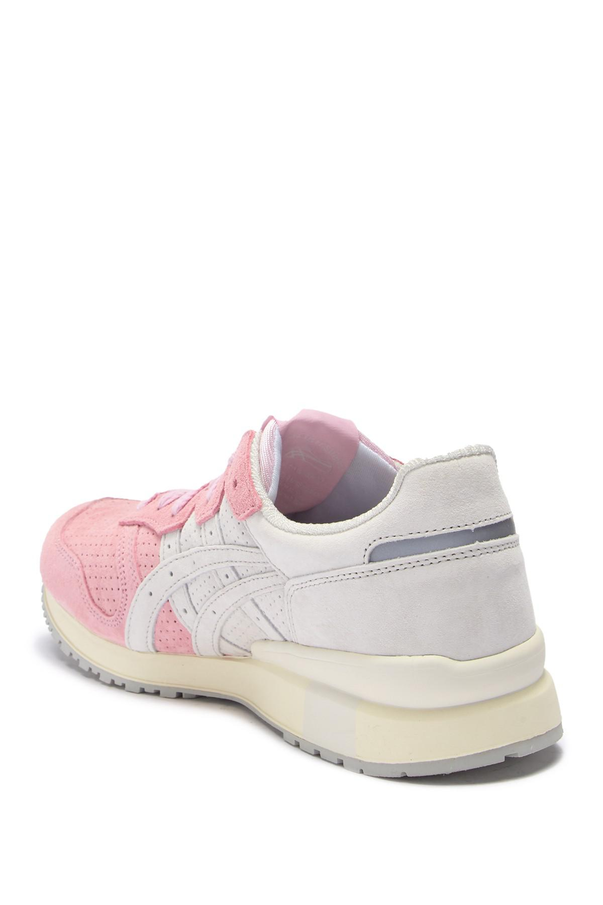 watch 918ba a99e3 Lyst - Asics Tiger Ally Suede Sneaker in Pink for Men