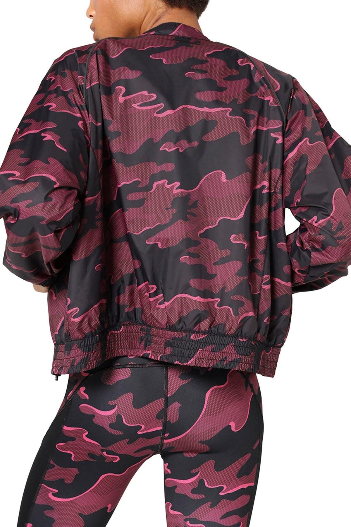 Lyst Ivy Park Camo Print Woven Bomber Jacket