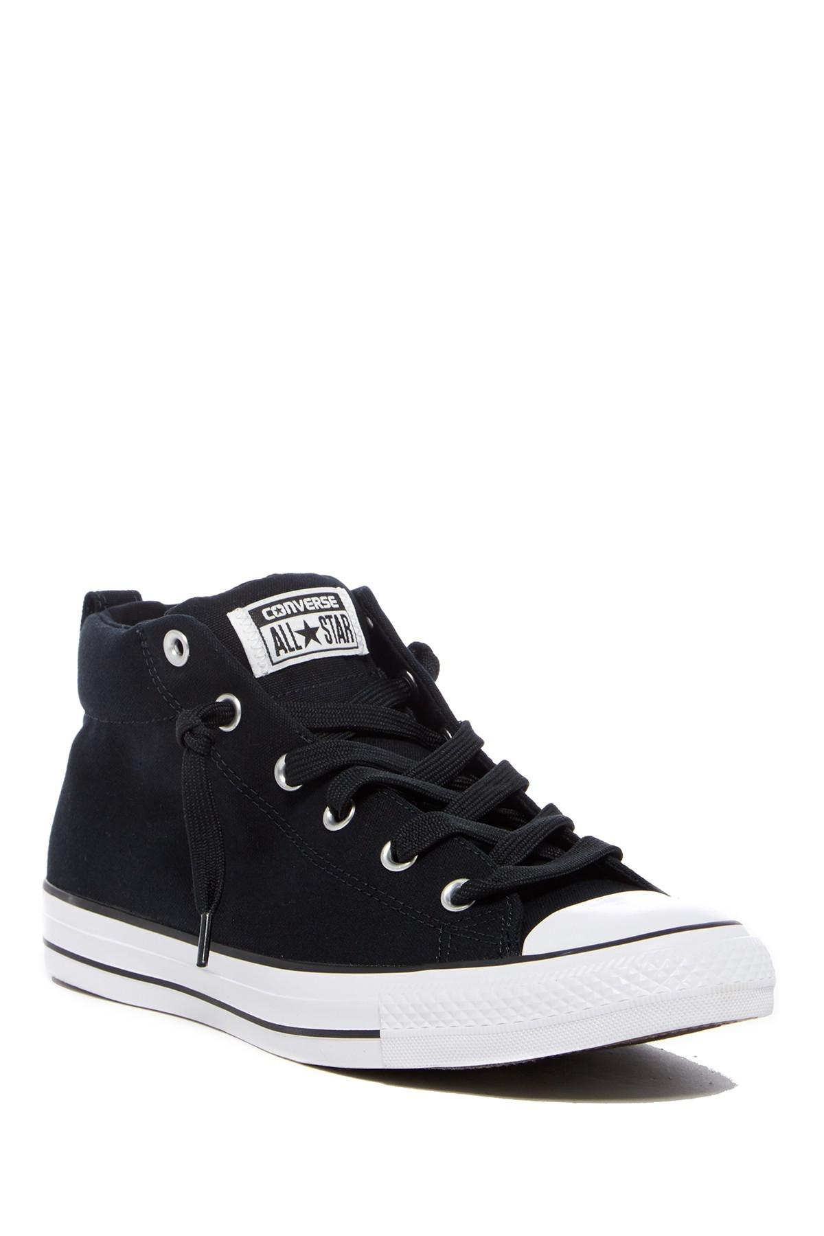 afe37fc26aba Lyst - Converse Chuck Taylor All Star Street Sneaker (unisex) in Black
