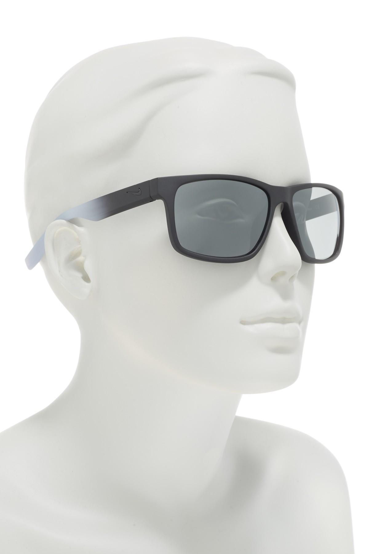 897e91e4f1 Nike - Gray Cruiser 59mm Square Sunglasses for Men - Lyst. View fullscreen