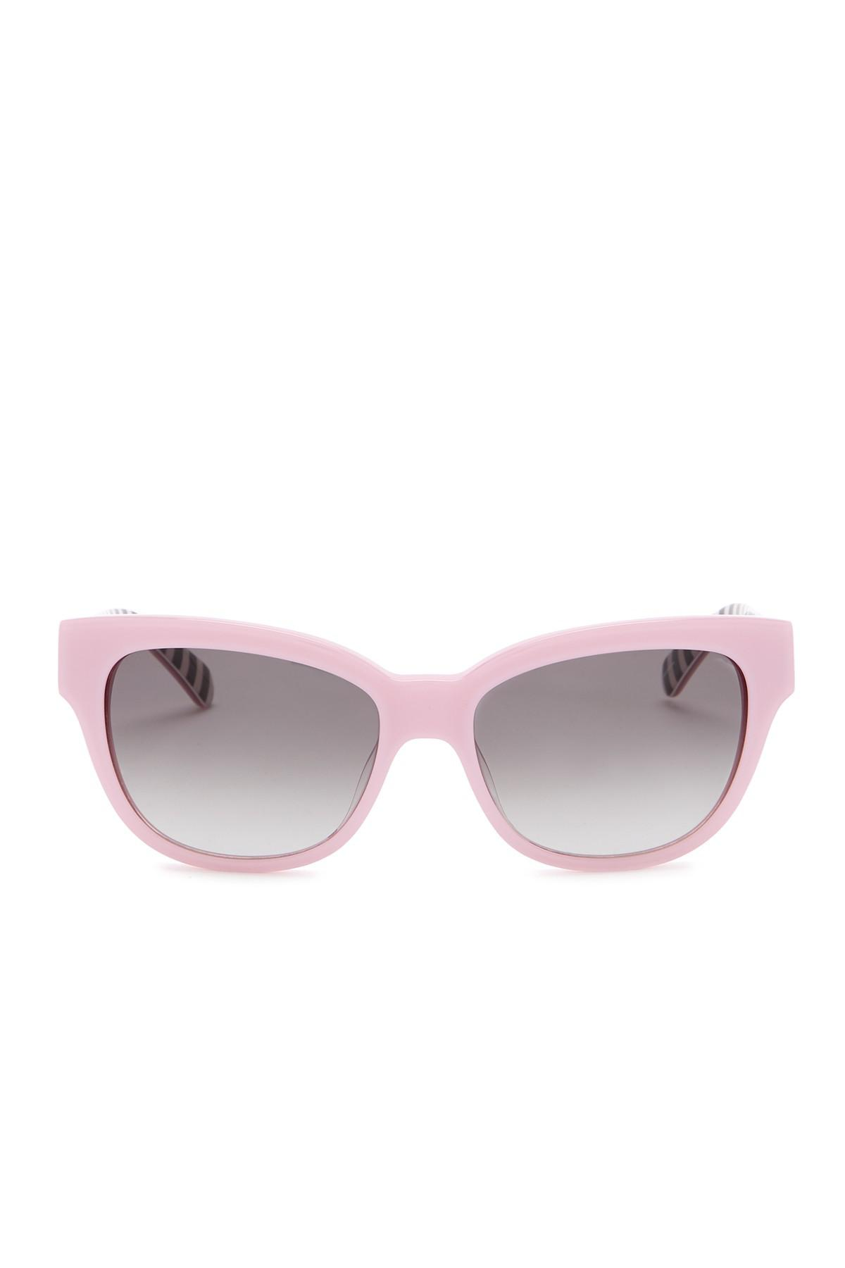 62fa88750f Lyst - Kate Spade Aisha 53mm Sunglasses in Pink
