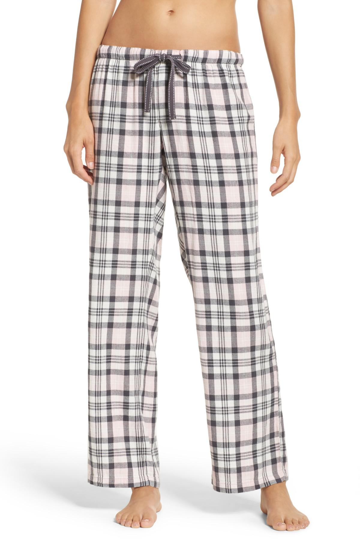 bece99e84e9 Lyst - Pj Salvage Plaid Pajama Pants in Pink