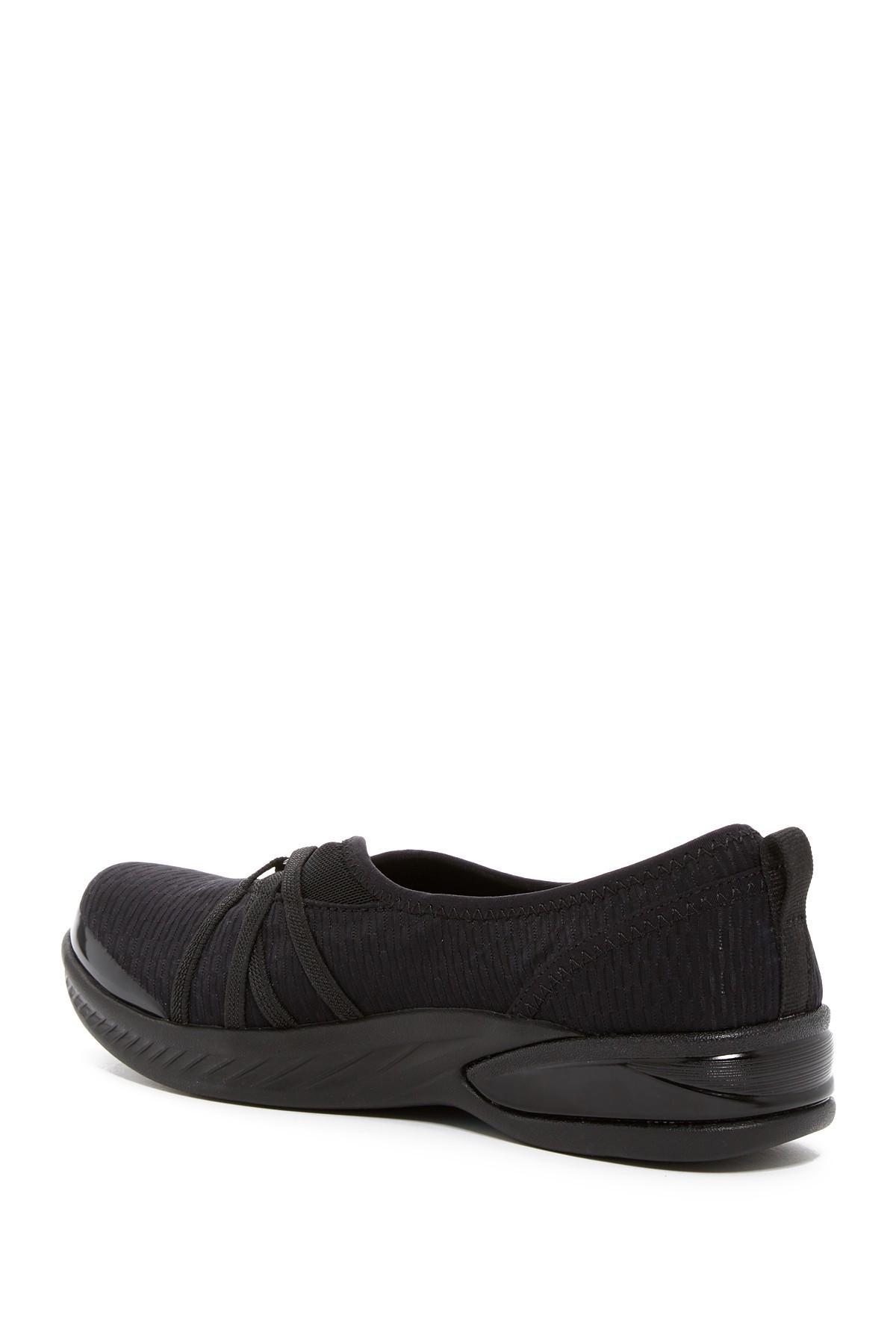 a2b54ac3cc38 Bzees - Black Niche Slip-on Sneaker - Wide Width Available - Lyst. View  fullscreen