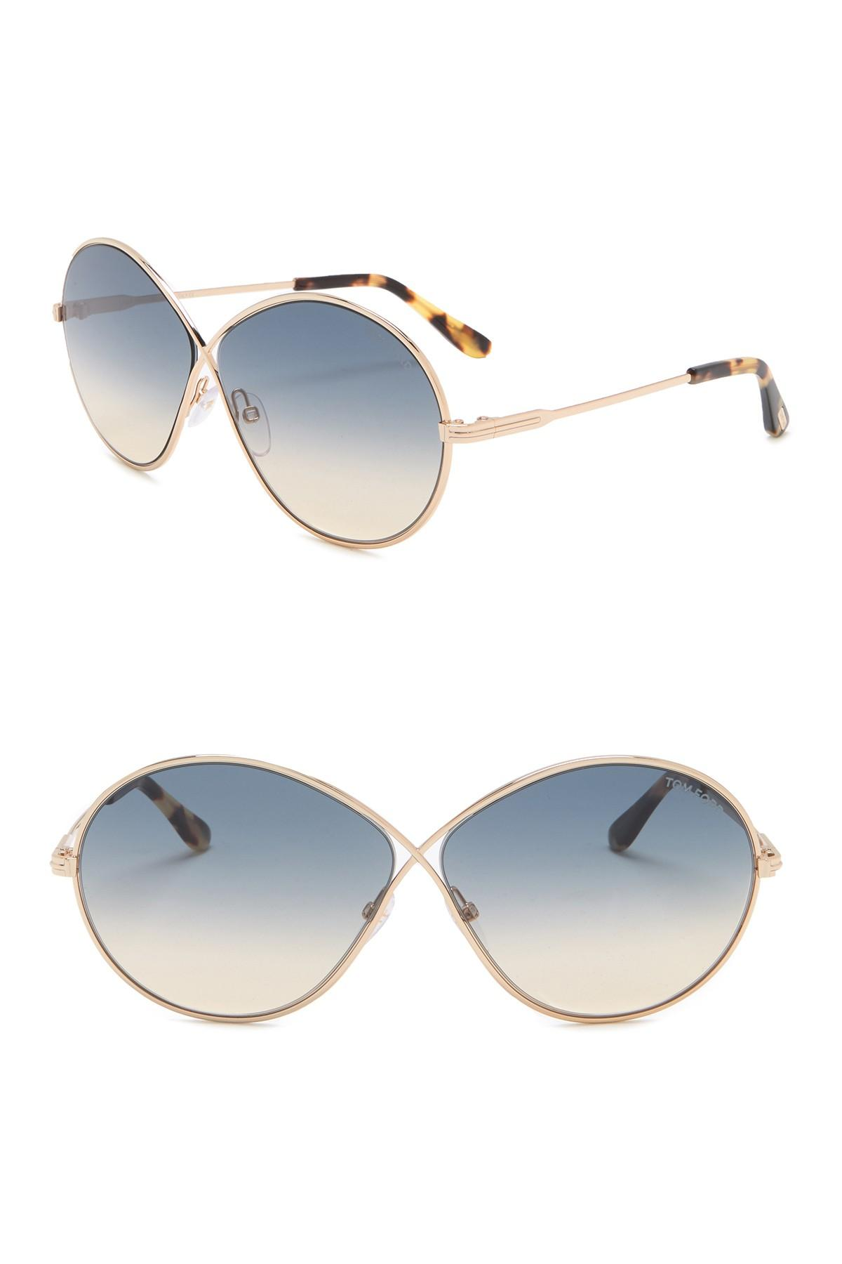 e5c2779d5c8 Tom Ford. Women s Raina 64mm Butterfly Sunglasses.  495  160 From Nordstrom  Rack