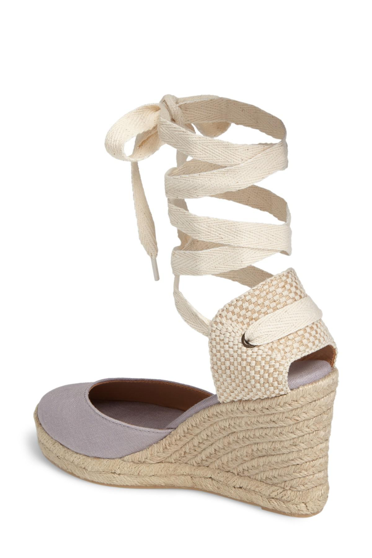 75a52d121d7 Lyst - Soludos Tall Wedge Espadrille (women) in Gray
