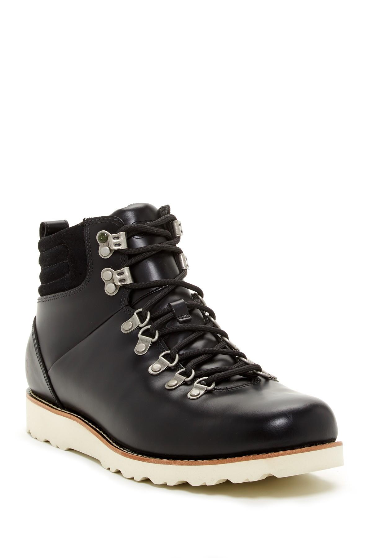 ugg capulin waterproof boot in black for lyst