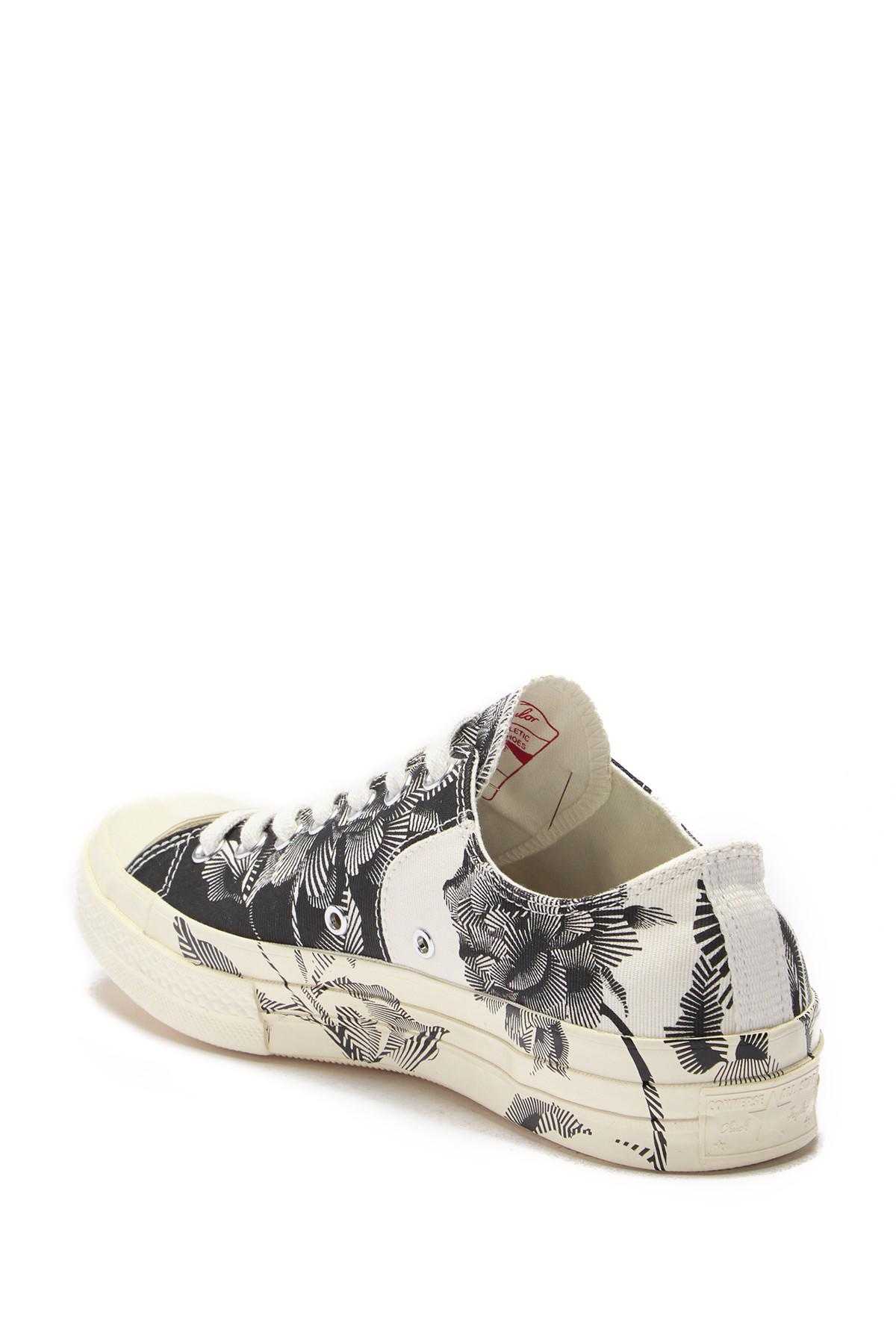e5df629a8733 Lyst - Converse Chuck 70 Block Ox Printed Sneaker for Men