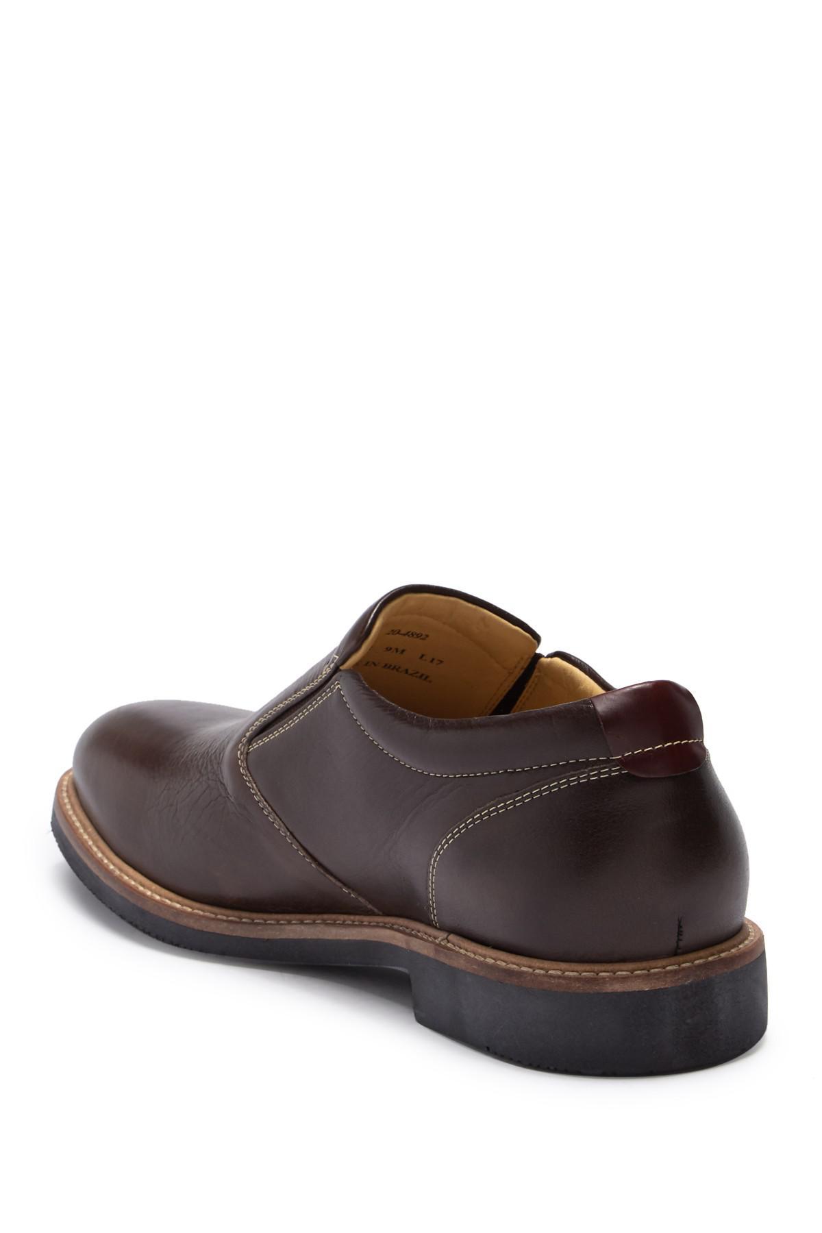 c039f85a6e0 Lyst - Johnston   Murphy Barlow Leather Slip-on Loafer - Wide Width ...