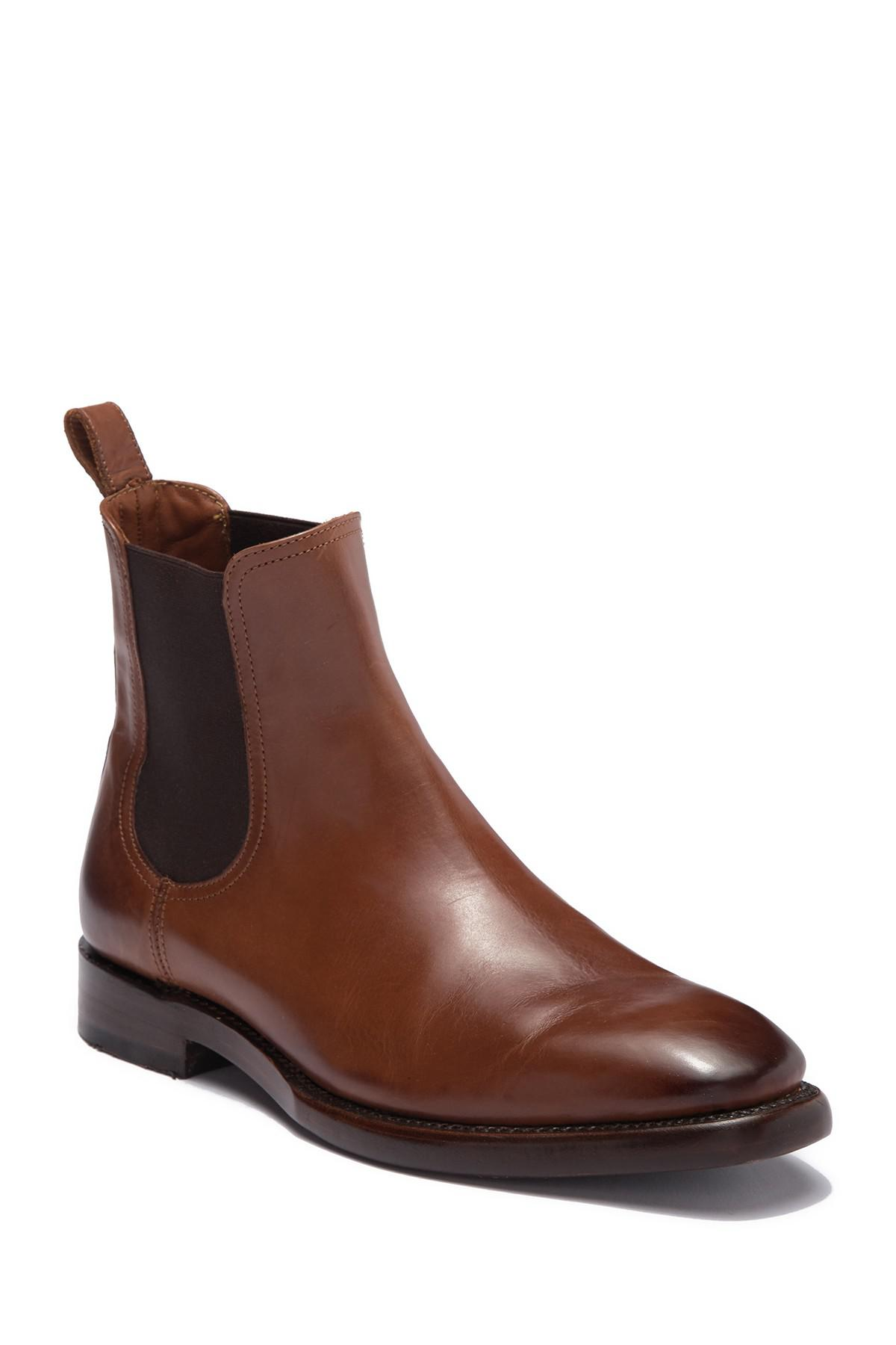 8aa7157cb9d8 Frye Weston Chelsea Boot in Brown for Men - Lyst